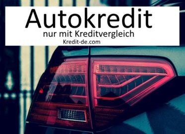 auto kredit vergleich